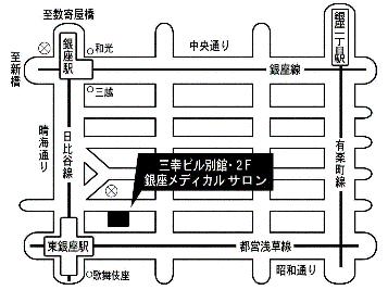 銀座メディカルサロン 地図